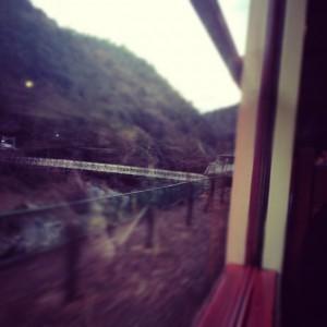 保津川駅の橋